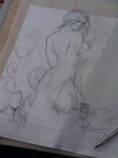 Some sketchwork...