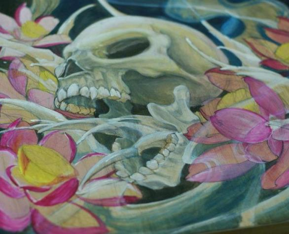 TS pics- Skull painting from facebook