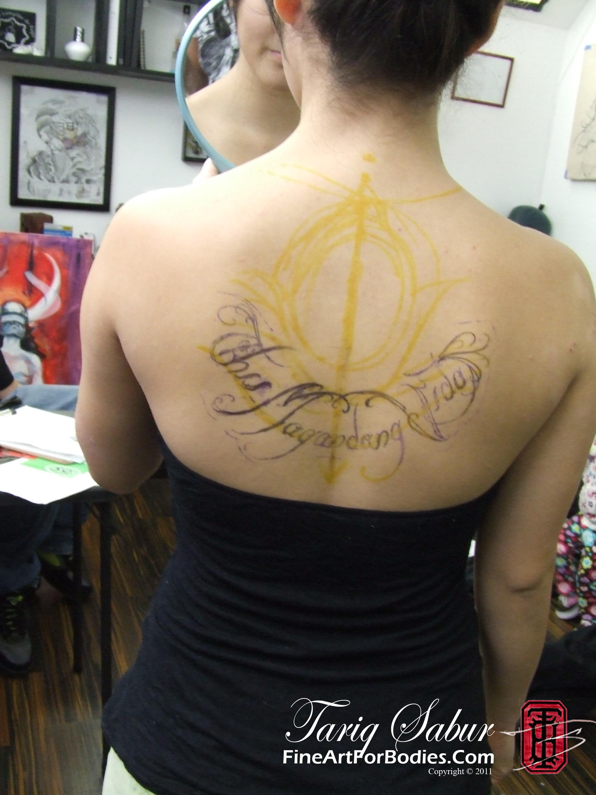 female tattoo,