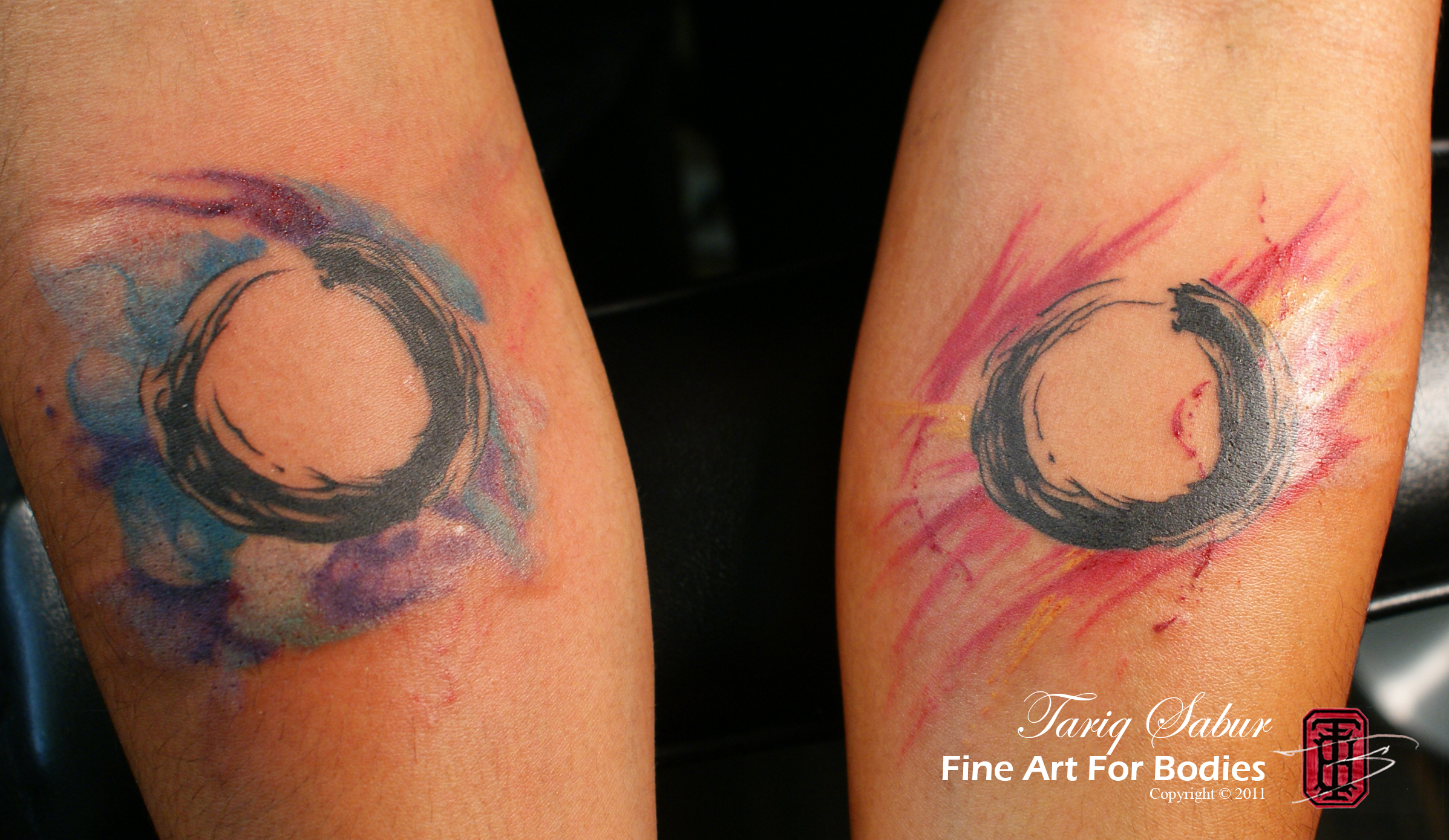 Watercolor tattoo tariq sabur for What is a watercolor tattoo