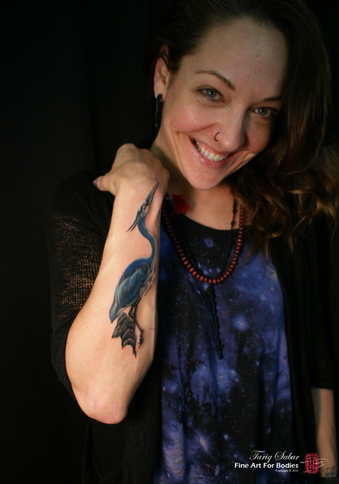Jojo Diggs heron