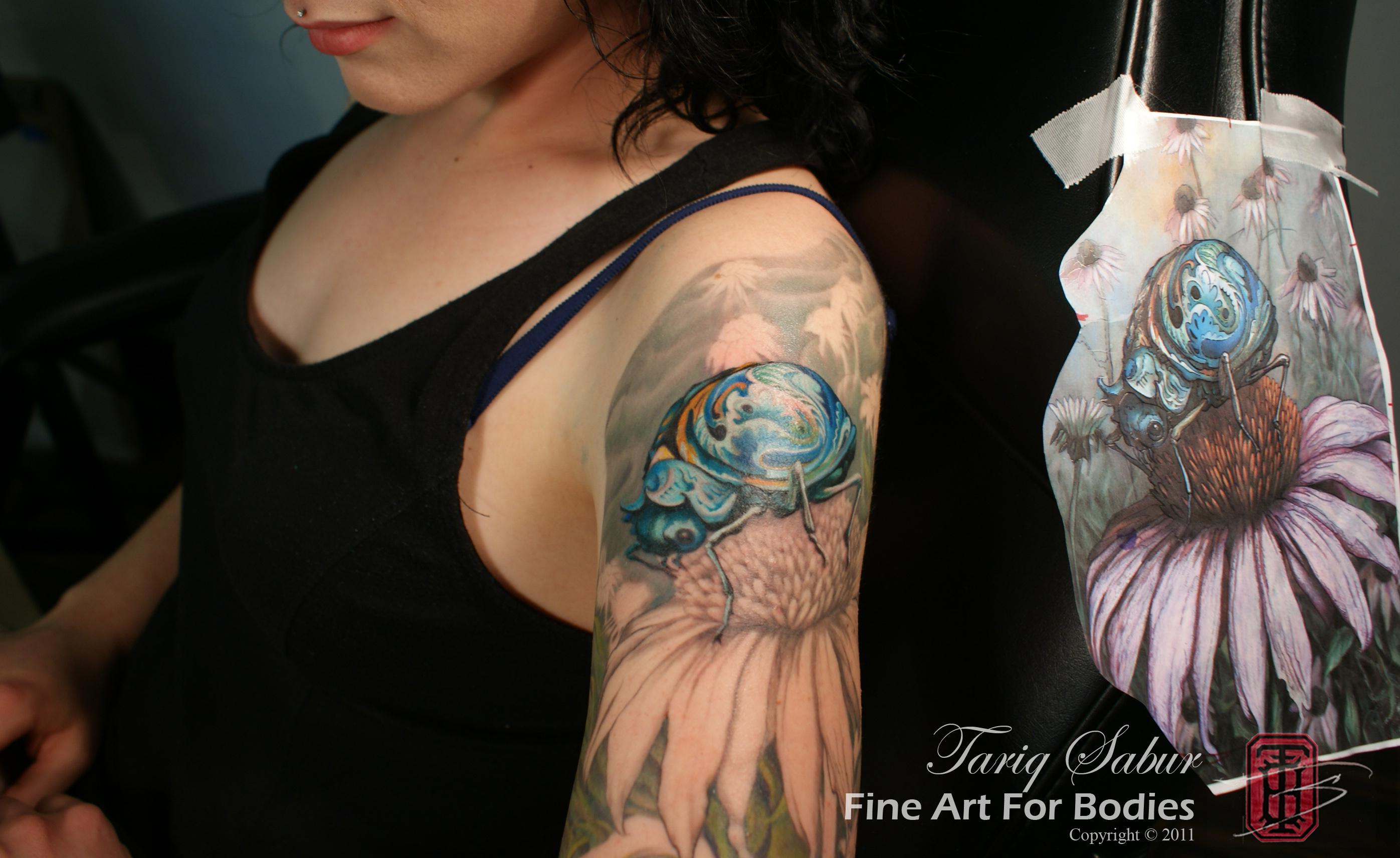 Gentleman Bug Fine Art For Bodies Premium Custom Body Art