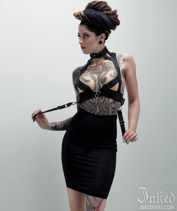 heavily tattooed models