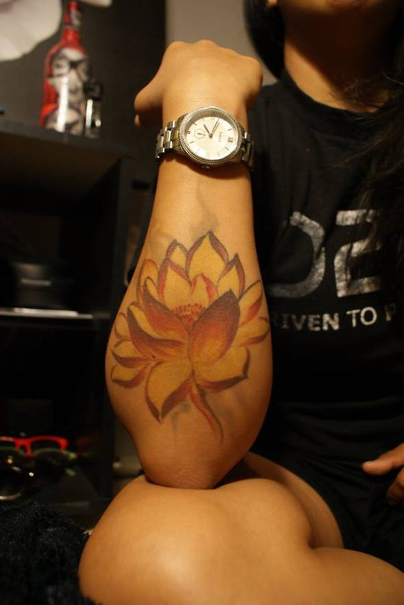 fire lotus tattoo tempe arizona artist tariq sabur fine art for bodies